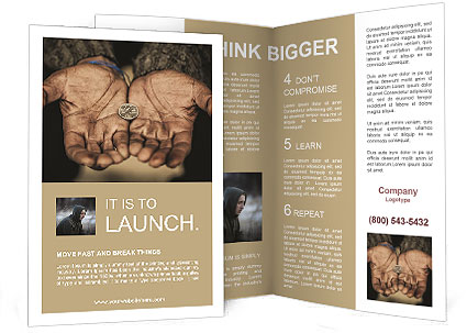 Bagger Brochure Template
