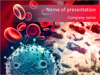 Microscope Analysis PowerPoint Template - Slide 1