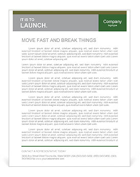 Think Green Letterhead Templates