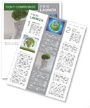 Think Green Newsletter Templates