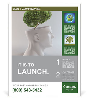 Think Green Poster Templates