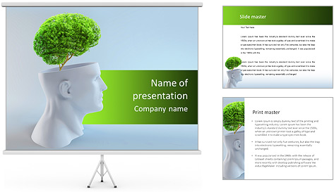 Think Green PowerPoint Template