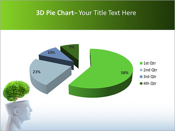Think Green PowerPoint Template - Slide 15