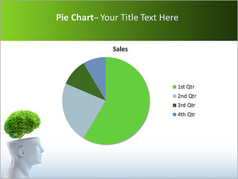 Think Green PowerPoint Template - Slide 16