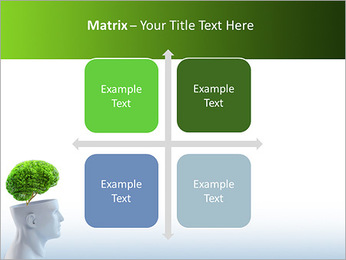 Think Green PowerPoint Template - Slide 17