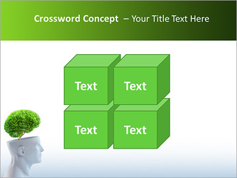 Think Green PowerPoint Template - Slide 19