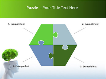 Think Green PowerPoint Template - Slide 20