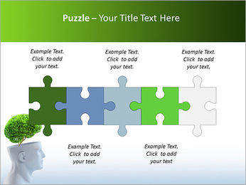 Think Green PowerPoint Template - Slide 21