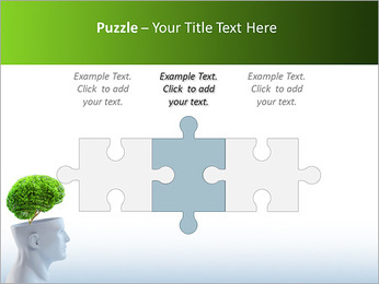 Think Green PowerPoint Template - Slide 22
