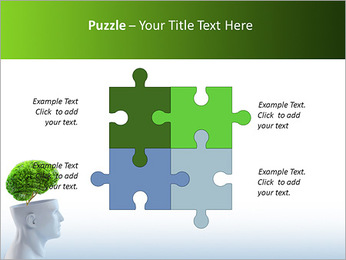 Think Green PowerPoint Template - Slide 23
