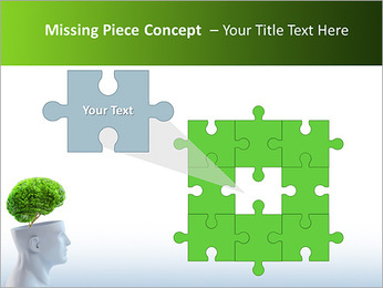 Think Green PowerPoint Template - Slide 25