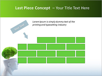 Think Green PowerPoint Template - Slide 26