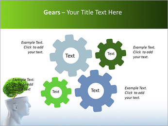 Think Green PowerPoint Template - Slide 27