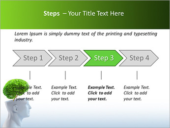 Think Green PowerPoint Template - Slide 4