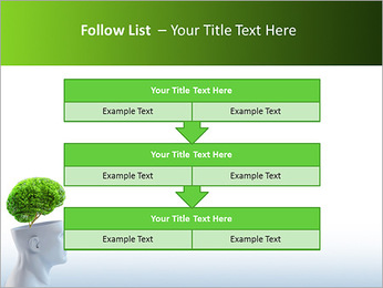 Think Green PowerPoint Template - Slide 40