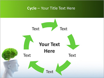 Think Green PowerPoint Template - Slide 42
