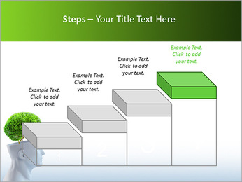 Think Green PowerPoint Template - Slide 44