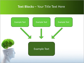 Think Green PowerPoint Template - Slide 50