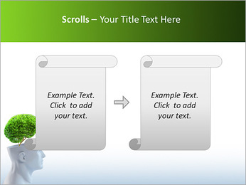 Think Green PowerPoint Template - Slide 54