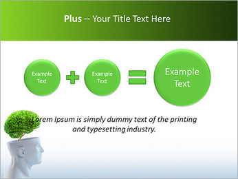 Think Green PowerPoint Template - Slide 55