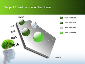 Think Green PowerPoint Template - Slide 6