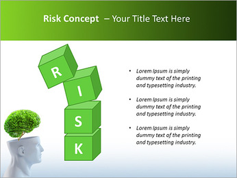 Think Green PowerPoint Template - Slide 61