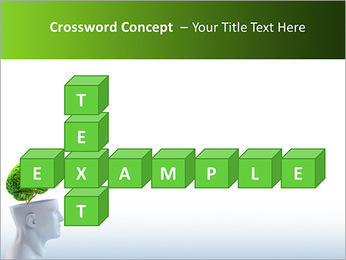 Think Green PowerPoint Template - Slide 62
