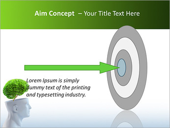 Think Green PowerPoint Template - Slide 63