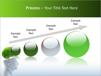 Think Green PowerPoint Template - Slide 67