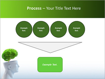 Think Green PowerPoint Template - Slide 73
