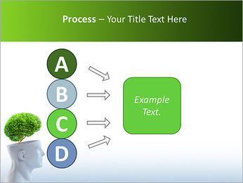 Think Green PowerPoint Template - Slide 74