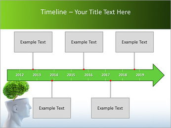 Think Green PowerPoint Template - Slide 8