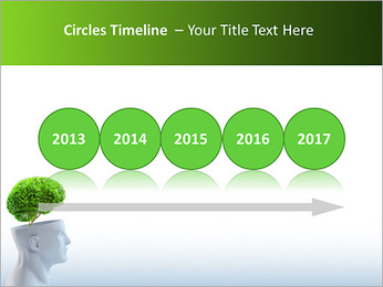 Think Green PowerPoint Template - Slide 9
