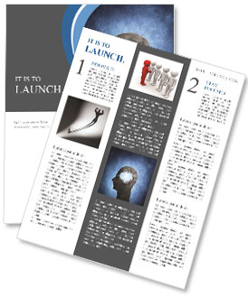 Hole In Head Newsletter Template