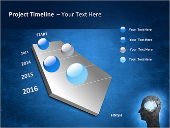 Hole In Head PowerPoint Templates - Slide 6