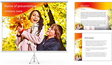 Autumn Season PowerPoint Template