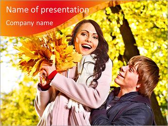Autumn Season PowerPoint Template - Slide 1