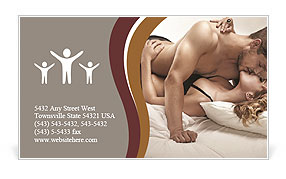 Pure Passion Business Card Template