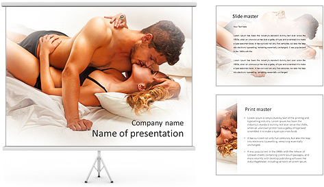 Pure Passion PowerPoint Template
