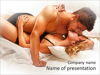Pure Passion PowerPoint Template - Slide 1