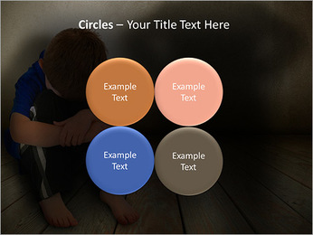 Lonely Child PowerPoint Templates - Slide 18