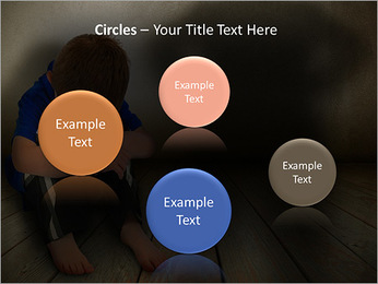 Lonely Child PowerPoint Templates - Slide 57