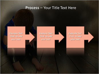 Lonely Child PowerPoint Templates - Slide 68