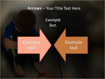 Lonely Child PowerPoint Templates - Slide 70