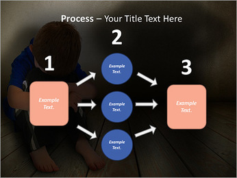 Lonely Child PowerPoint Templates - Slide 72