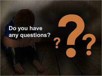 Lonely Child PowerPoint Template - Slide 75