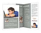 Movie On-Line Brochure Template