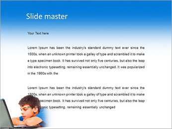 Movie On-Line PowerPoint Template - Slide 2
