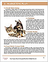 Girl Hugs Labrador Word Templates - Page 8