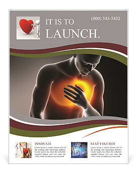 Pain In Chest Flyer Template